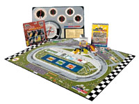 Maxtrax 2D NASCAR Racing Board Game